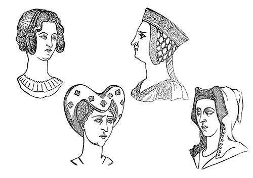 14th-Century-Ladies-Hairstyles-1