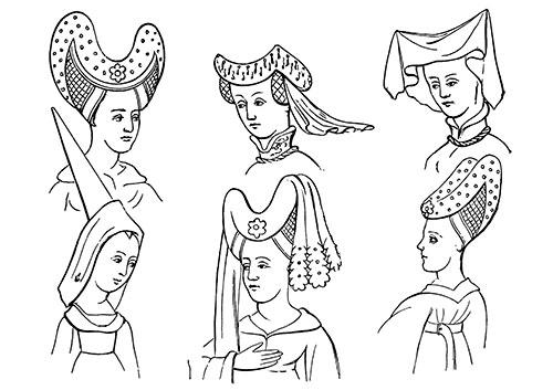 15th-Century-Womens-Head-Dresses-1