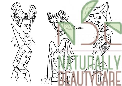 15th-century-women-hairstyle