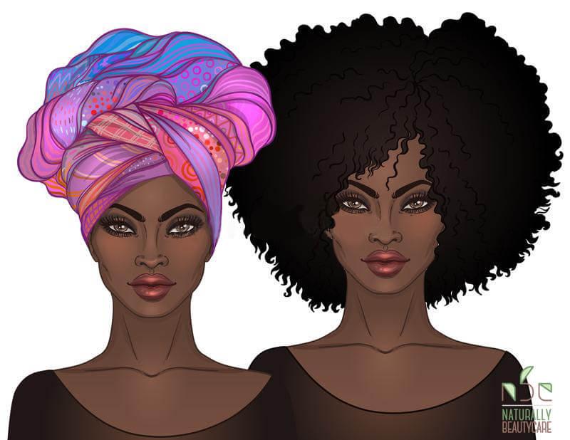 black-woman-afro-turban