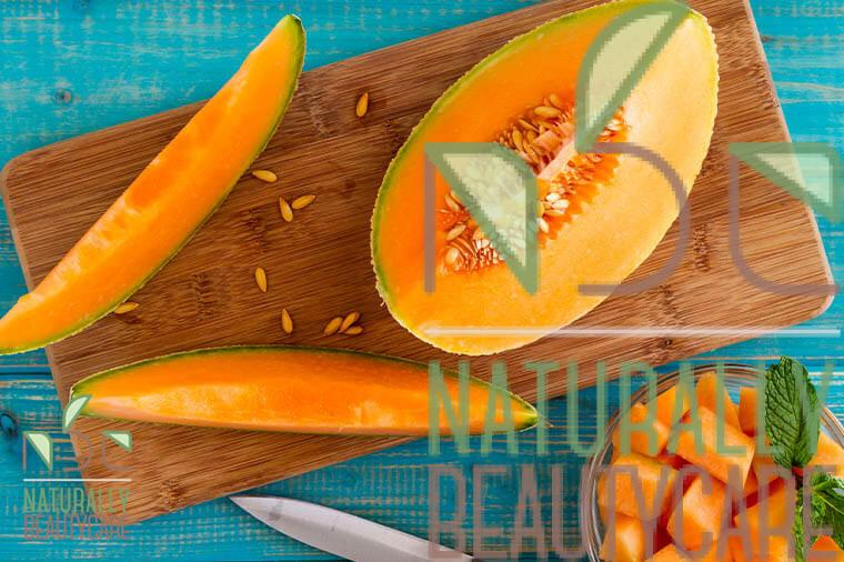 natural-sun-screen-for-hair-with-melon