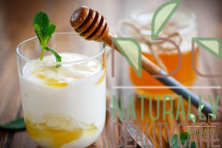 natural-sun-screen-for-hair-with-yogurtand-honey