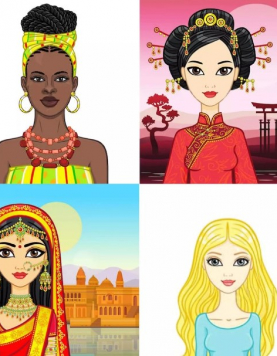 The history of women hairstyle in time and space