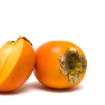 asian-persimmon-isolated-white
